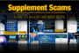 How to avoid SCAM supplement manufacturers