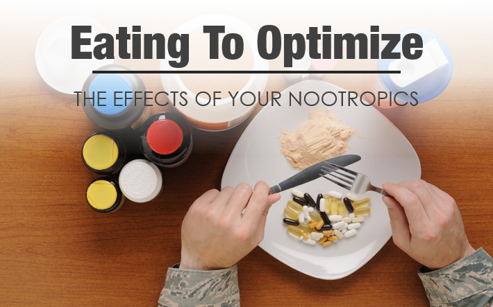 Nootropic supplements and food
