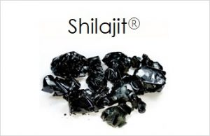 A pile of Shilajit crystals.